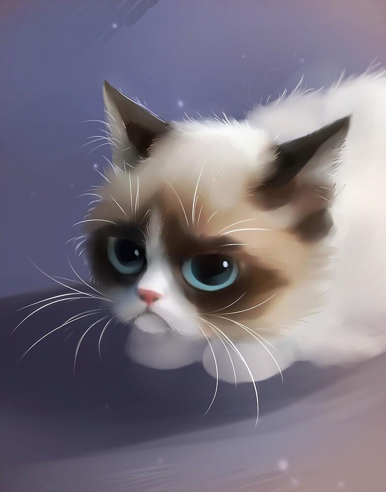 Little Grumpy Things by apofiss
