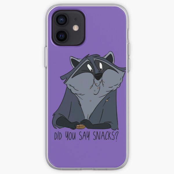 Hungry Raccoon iPhone Soft Case