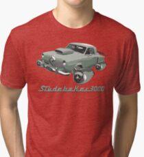 Studebaker 3000 (Green) Tri-blend T-Shirt