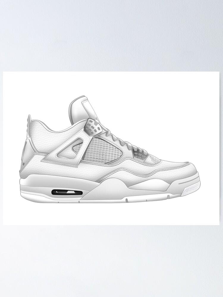 Jordan 4 PURE MONEY Air Sneaker