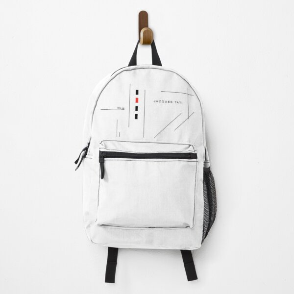 Jacques Tati Playtime Opening Director Credit Backpack