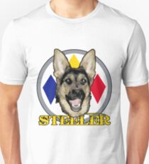 A dog named Steeler Unisex T-Shirt