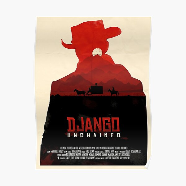 Django Unchained Alternative Poster Poster