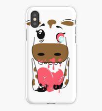 Zombie Animals COW iPhone Case