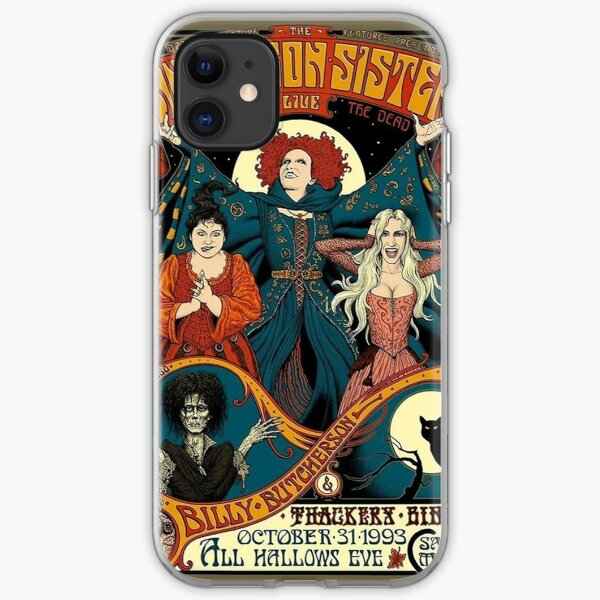 Sanderson Sisters, Hocus Pocus Halloween, fall iPhone Soft Case