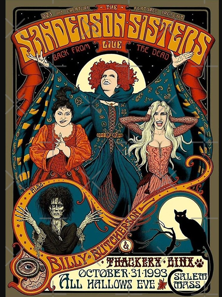 Sanderson Sisters, Hocus Pocus Halloween, fall by Wagner101