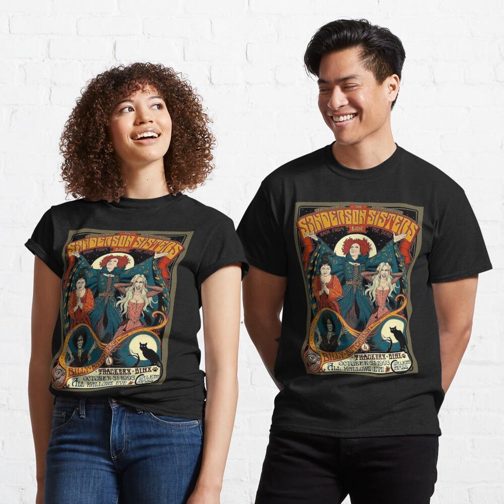 Sanderson Sisters, Hocus Pocus Halloween, fall Classic T-Shirt