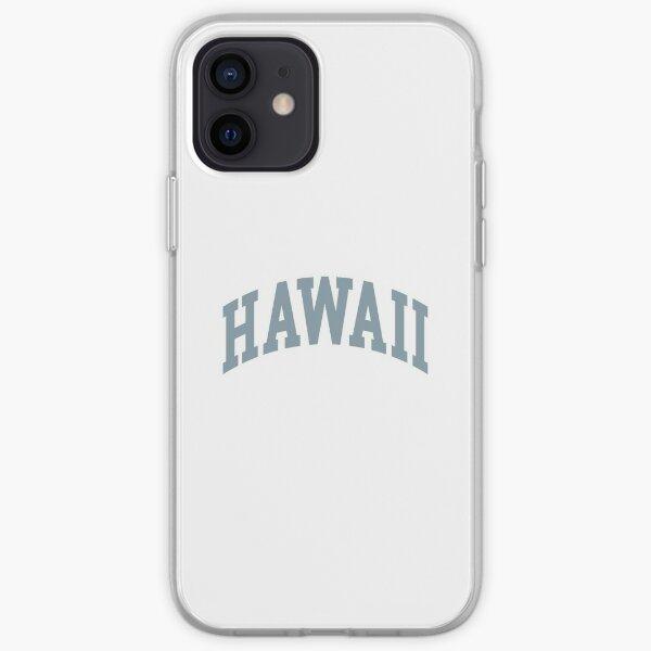 Lettre de l'État d'Hawaï Coque souple iPhone