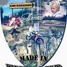 Made in Finland - Kimi Raikkonen T-Shirt by evenstarsaima