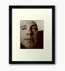 Look To An Uncertain Future Framed Print