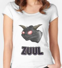 There is no Dana, only Zuul. Women's Fitted Scoop T-Shirt
