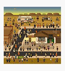 Super Breaking Bad Photographic Print