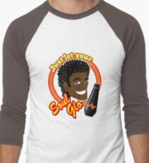 Soul Glo Men's Baseball ¾ T-Shirt