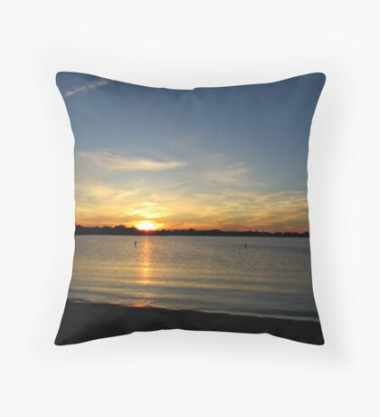 Placid Moments Throw Pillow