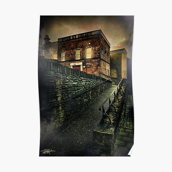 Early Morning • Derry Wall Poster