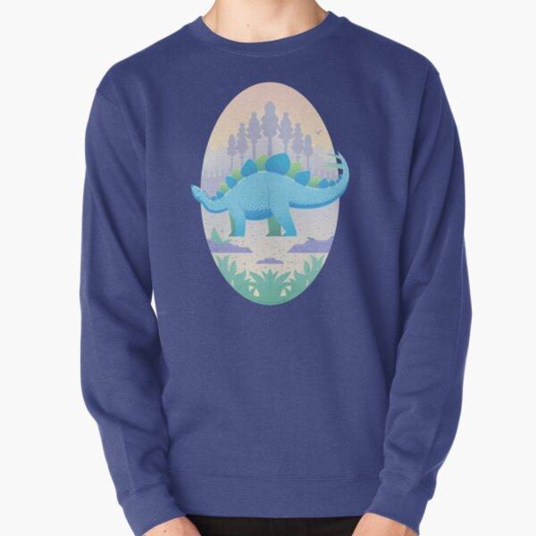 Stegosaurus Pullover Sweatshirt