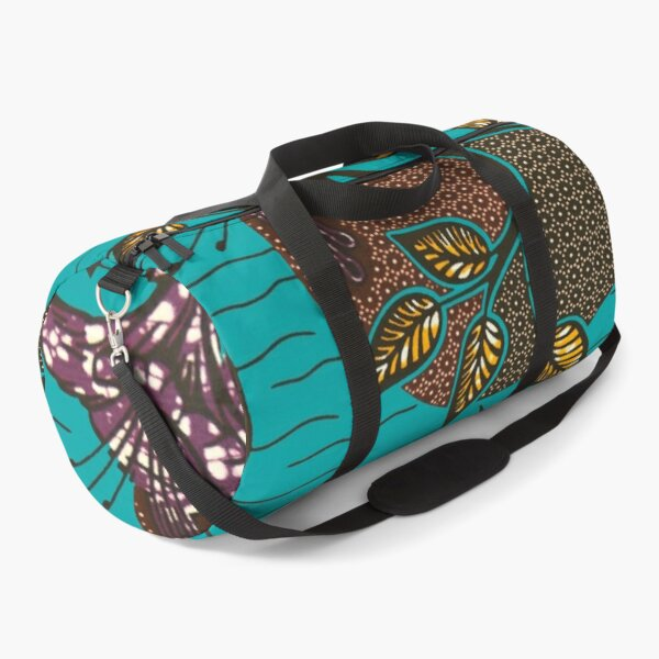 African wax fabric Mama Duffle Bag