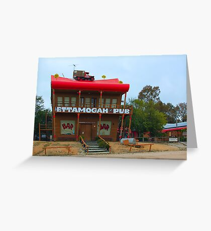 Ettamogah Pub near Albury NSW Greeting Card