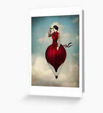 The Pleasure of Travelling  Greeting Card