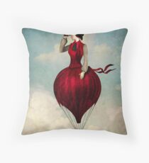 The Pleasure of Travelling  Throw Pillow
