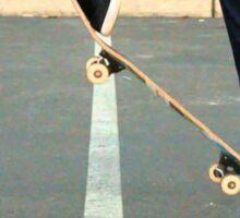 Skateboard Ollie Sticker