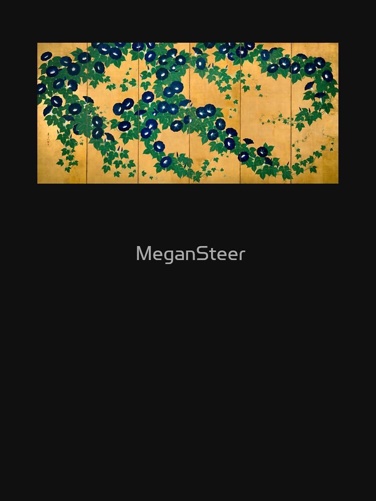 Morning Glories by Suzuki Kiitsu by MeganSteer