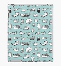 Blue Kitties iPad Case/Skin