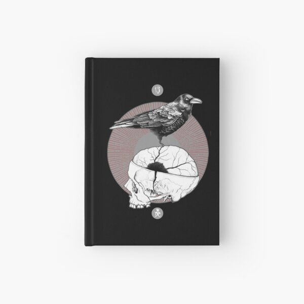 A Mind Is A Terrible Thing To Taste Hardcover Journal