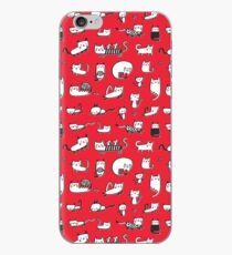 Red Kitties iPhone Case