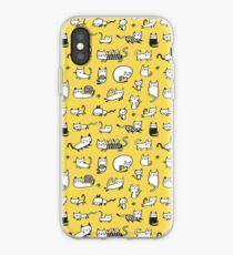 Yellow Kitties iPhone-Hülle & Cover