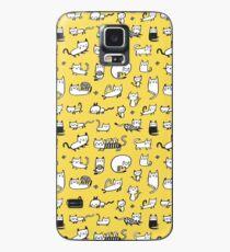 Yellow Kitties Case/Skin for Samsung Galaxy