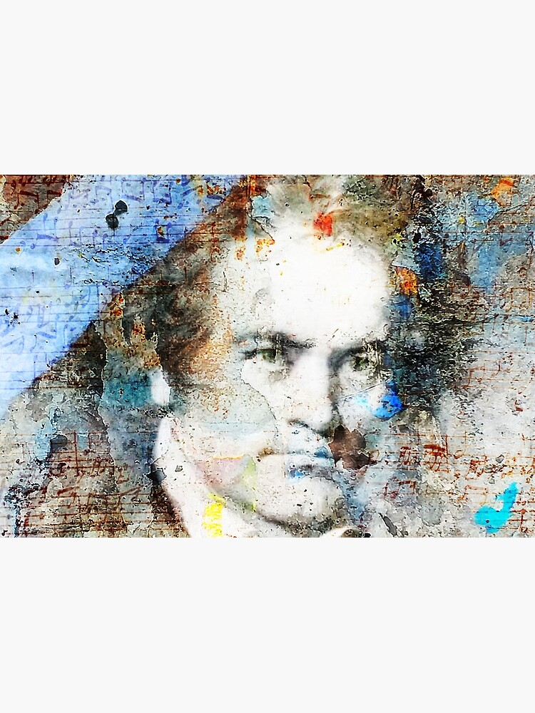 Beethoven Composer Musician Portrait  by oknoki