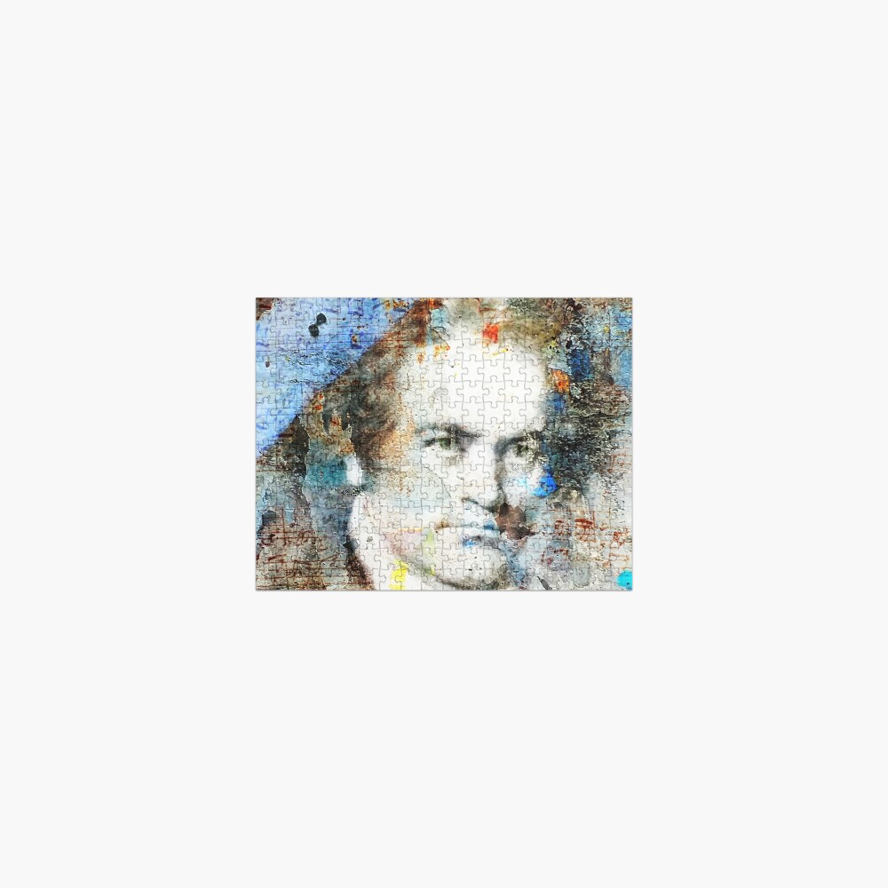 Beethoven Composer Musician Portrait  Jigsaw Puzzle