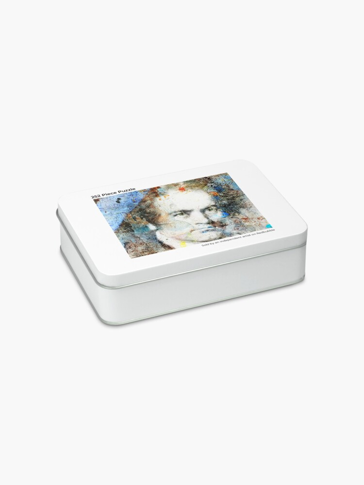 Alternate view of Beethoven Composer Musician Portrait  Jigsaw Puzzle