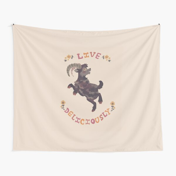 Live Deliciously Tapestry