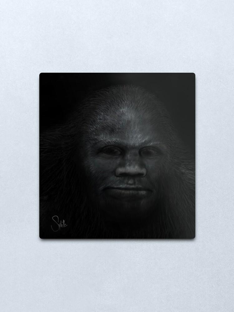 Alternate view of Juvenile's Face Metal Print