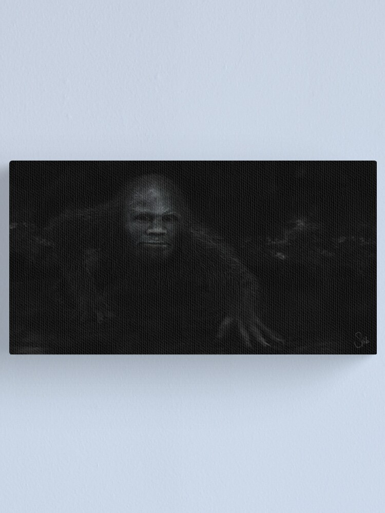 Alternate view of Sneaking Up on All Fours Canvas Print