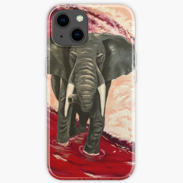 Alabama - Purpurne Flut iPhone Flexible Hülle