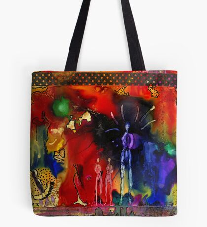 Land of the Giants Tote Bag