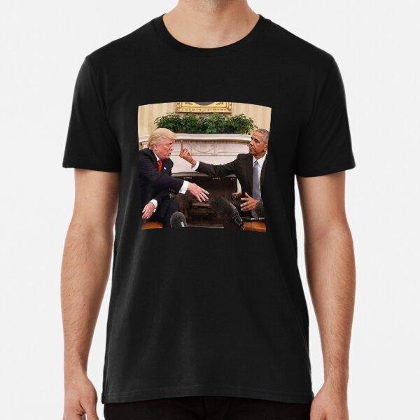 Obama flippt Trump ab Premium T-Shirt