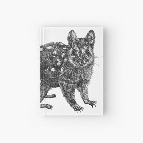 Amanda the Quoll Hardcover Journal