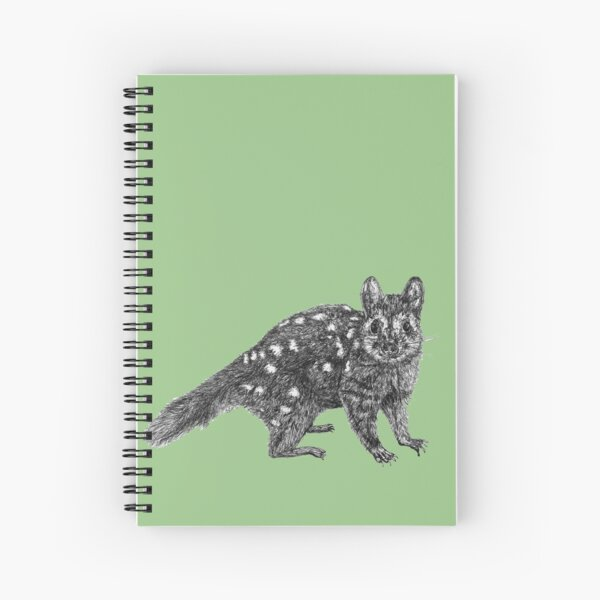 Amanda the Quoll Spiral Notebook