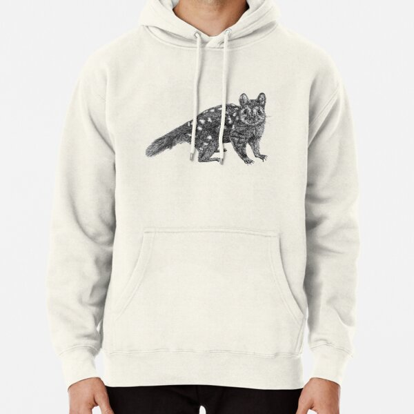 Amanda the Quoll Pullover Hoodie