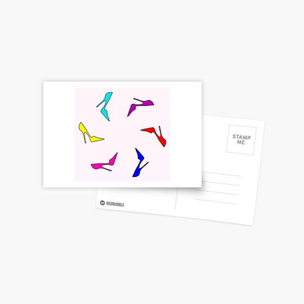 Flying Stilettos Postcard