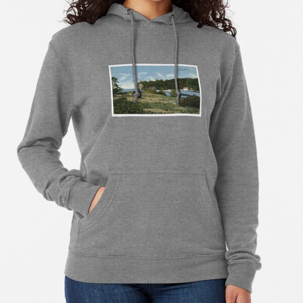 Lake Bluff, Sodus Bay, NY Lightweight Hoodie