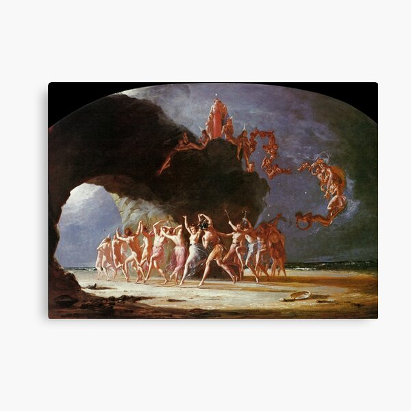 Come Unto These Yellow Sands - Richard Dadd Canvas Print