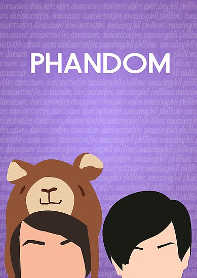 Phandom Poster (Purple) by EricaCookies