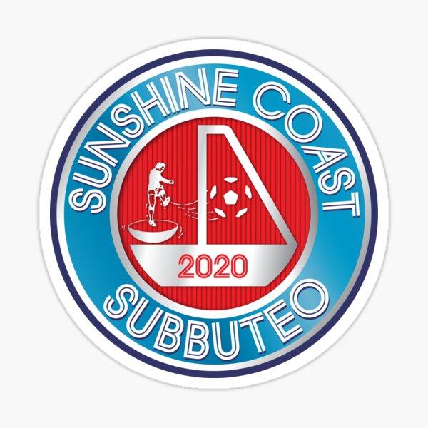 Sunshine Coast Subbuteo Club Logo Sticker