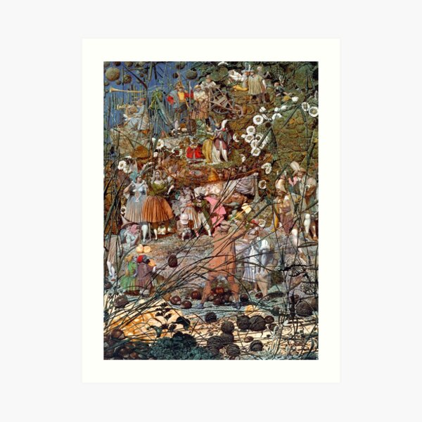 The Fairy Feller's Master Stroke - Richard Dadd Art Print