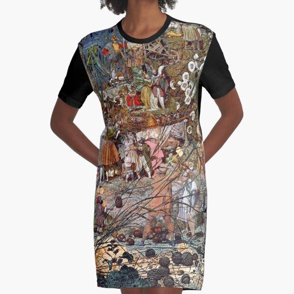 The Fairy Feller's Master Stroke - Richard Dadd Graphic T-Shirt Dress